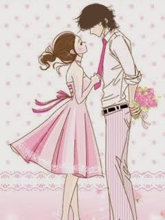 Cartoon Korean Couple Wallpaper Lucu Kartun