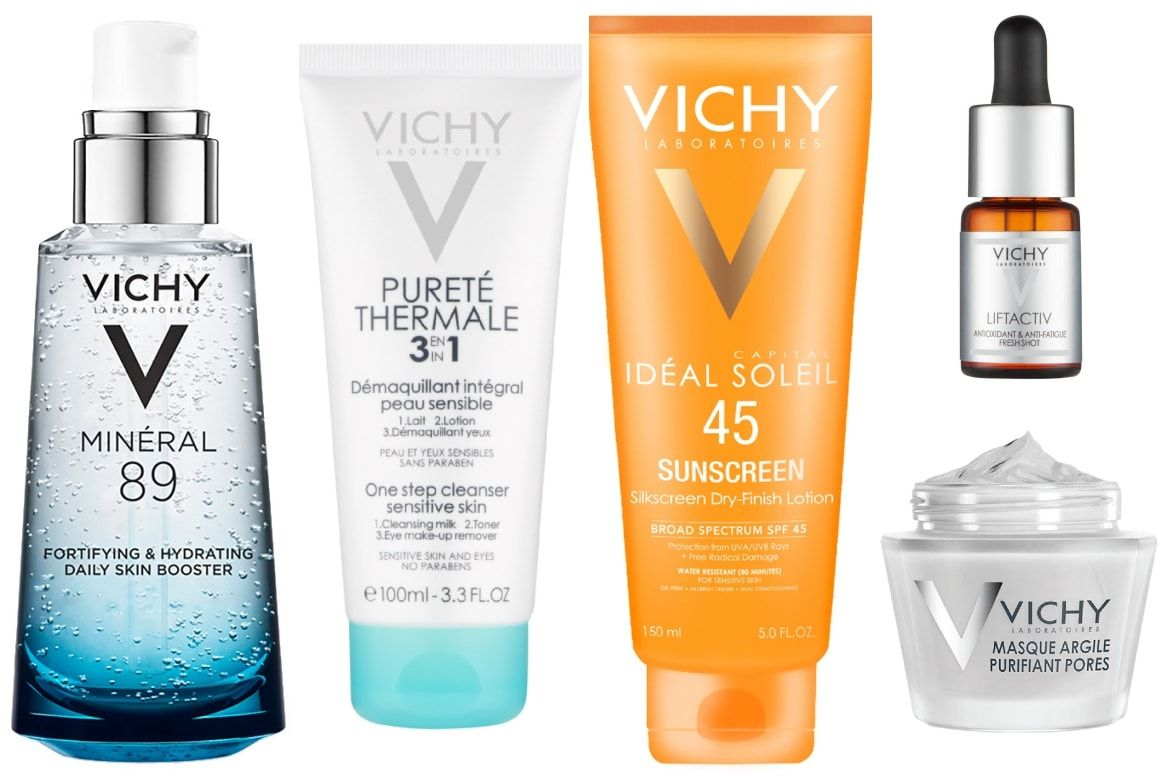 Fave Five The Best Of Vichy Skin Cleanser Products Cleanser Sensitive Skin Serum For Dry Skin
