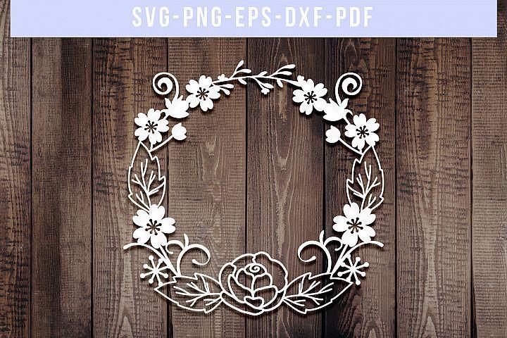 wreath template pdf # 90