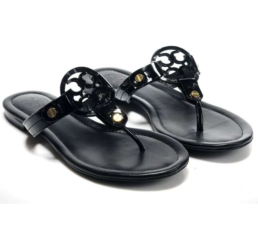 db802cccb289a5 Black sandal flip flops (with a slight heel