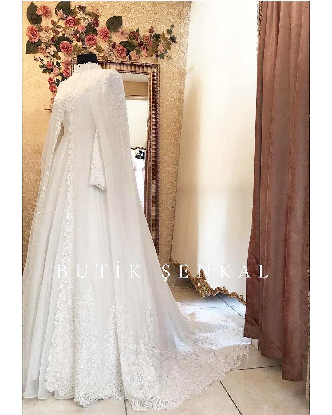 """Photo of ŞENKAL COUTURE on Instagram: """"Büşra Sultan 🌷Her defasında en güzeline niyet ile… #hayırlıcumalar 🌷 ŞENKAL COUTURE en mutlu günlerinizde hayallerinizi Şenlendirmek için…"""""""
