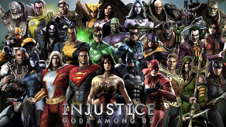 Injustice Gods Among Us V2 5 1 Apk Mod Unlimited Health Currency Injustice 2 Injustice Game Injustice 2 Comic