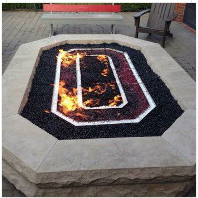 diy fire pit ideas for your backyard / outdoor - 51+ Awesome DIY Fire Pit Ideas Buckeyes Pinterest Ohio State