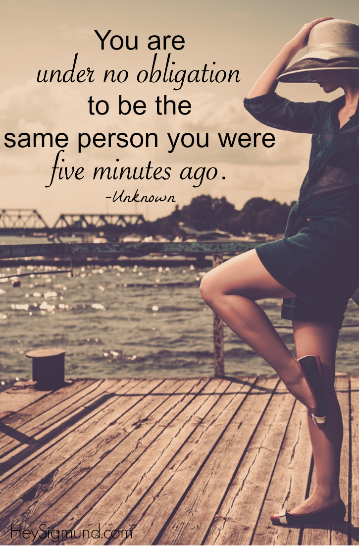 When It's Time to Make A Change - | Inspirational quotes, Words, Thoughts