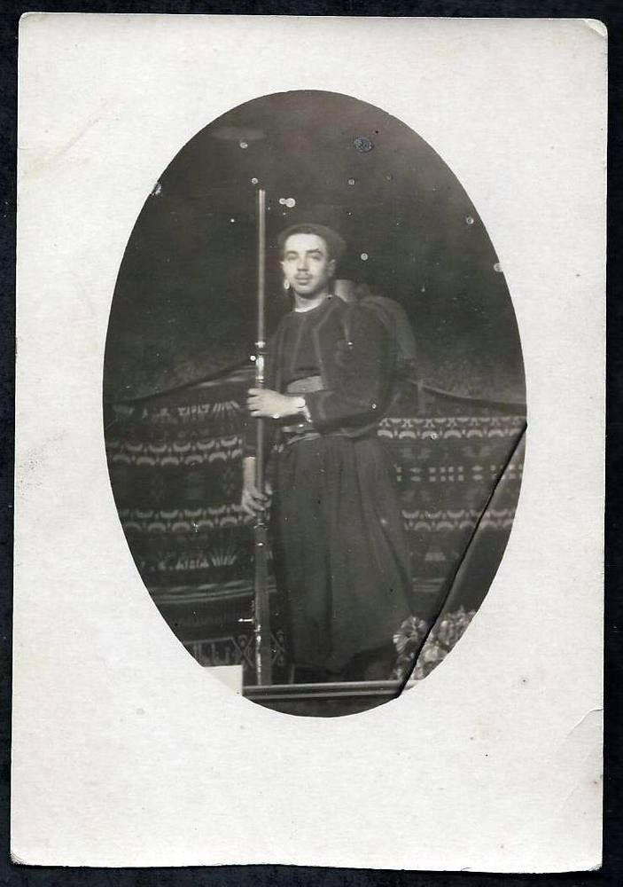 WW1-FRENCH ZOUAVE WITH RIFLE
