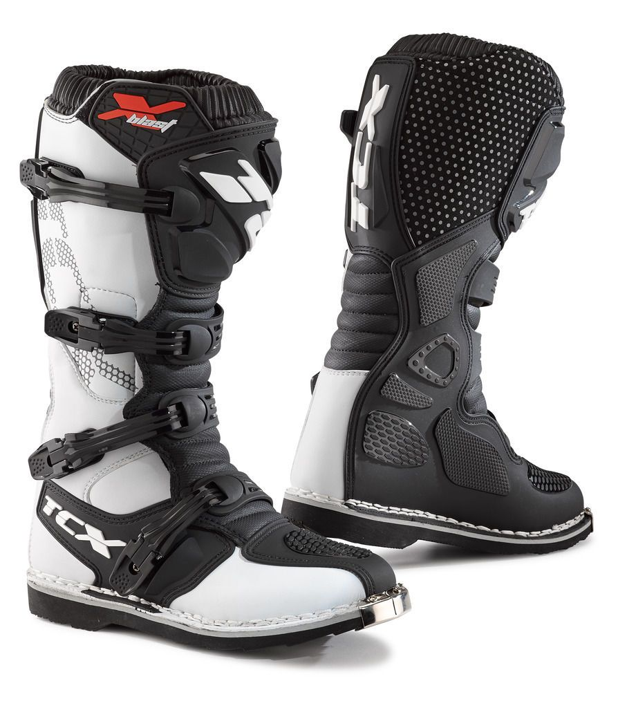 TCX X-Blast Men's Motocross MX Motorcycle Boots White 9670 CE ...