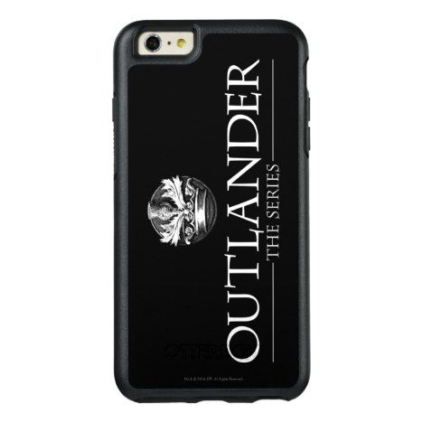 Outlander The Series Logo White V1 OtterBox iPhone Case