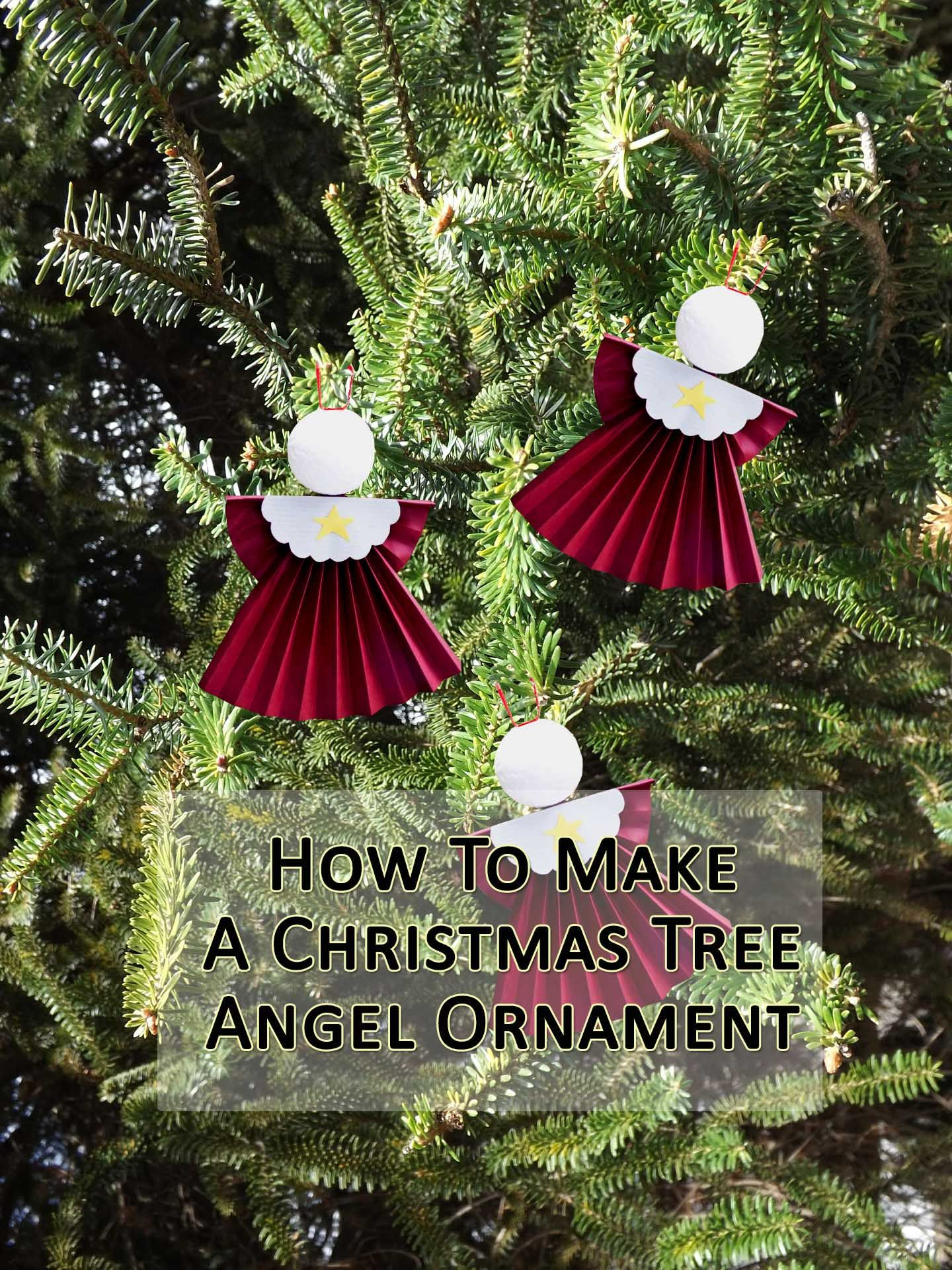 Here's how to make angel tree ornaments with the kids, for hours ...