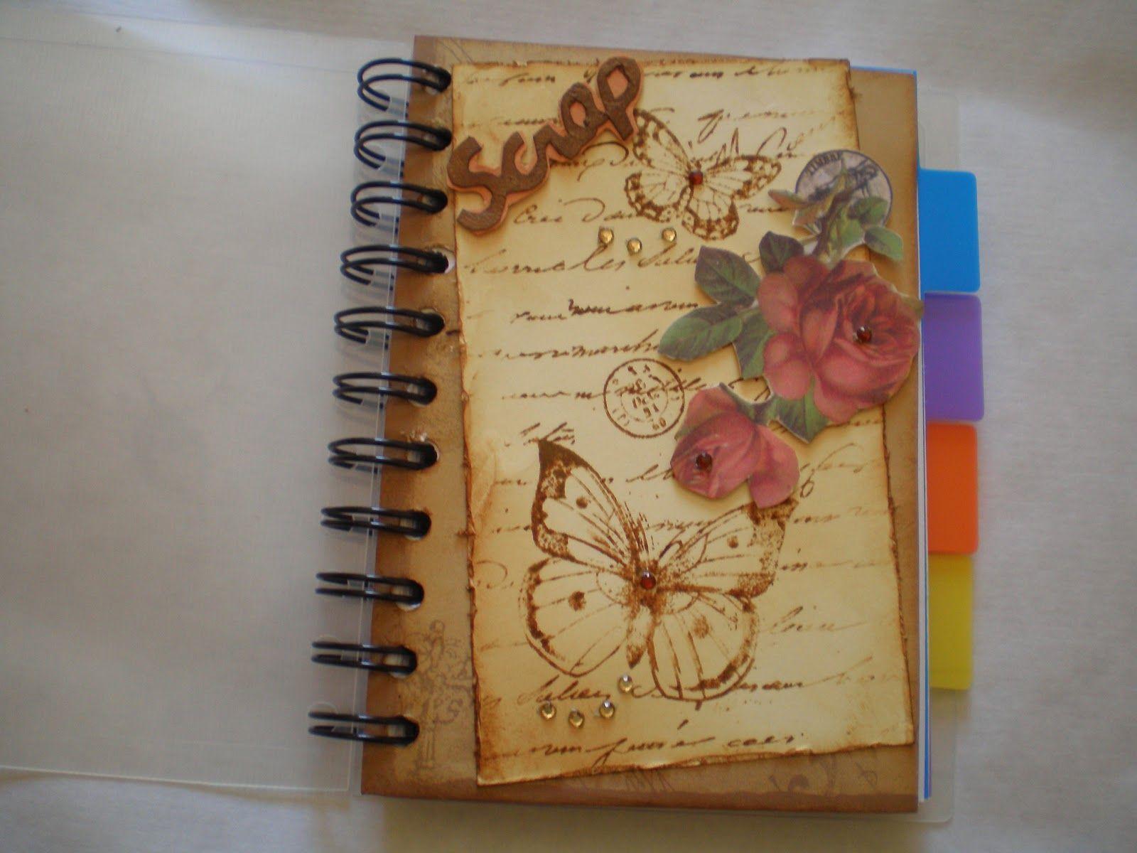 Decoracion de libretas estilo vintage buscar con google diy - Estilo vintage decoracion ...