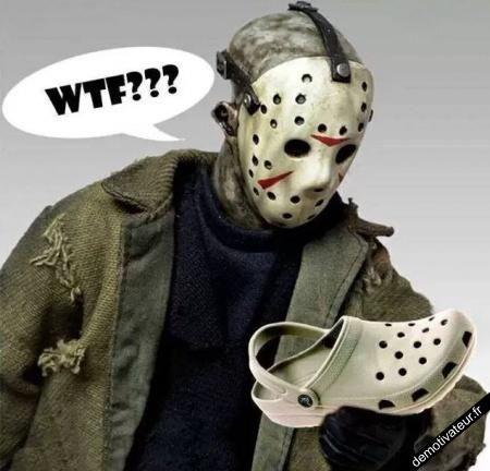vous préférez le masque ou la chaussure??
