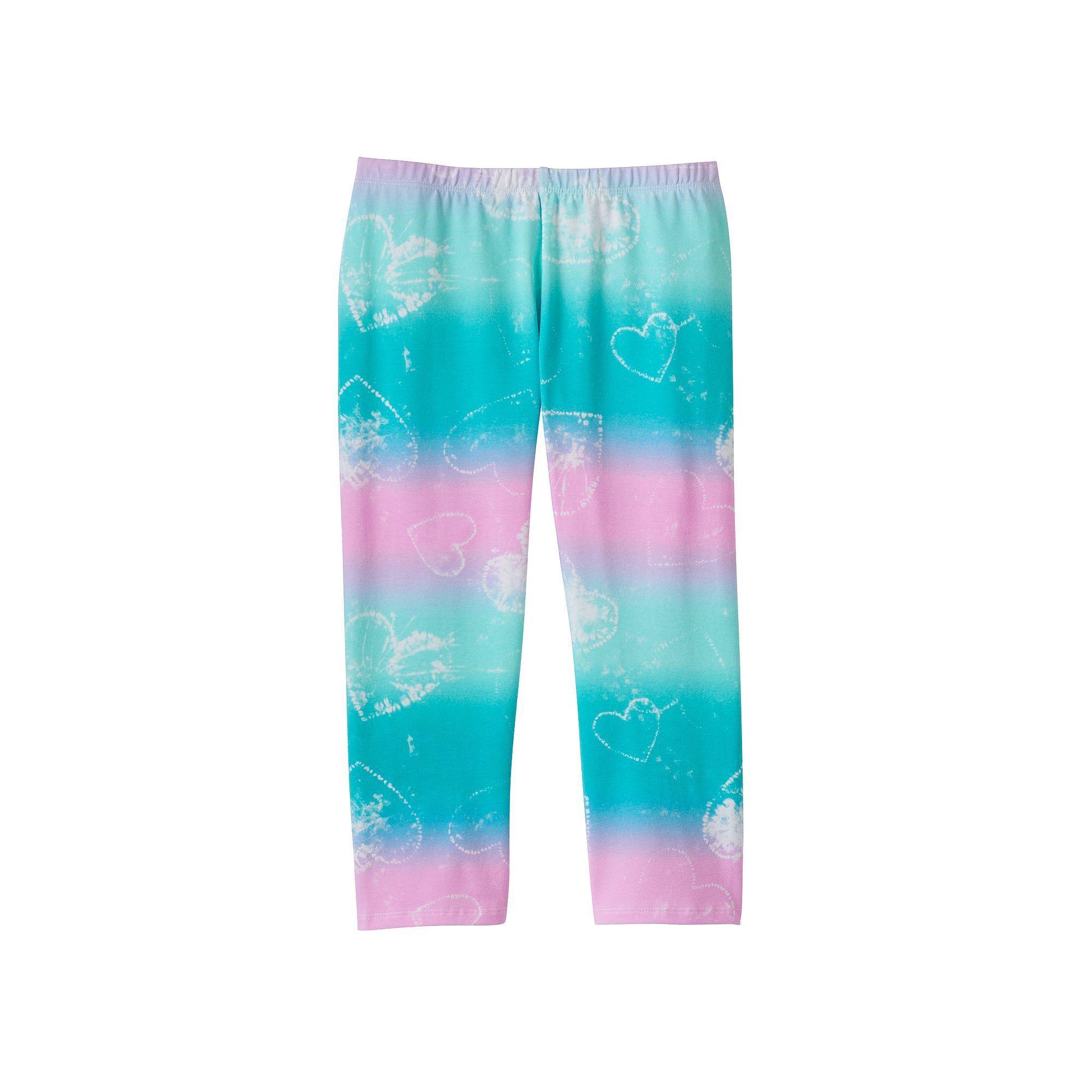Girls 7-16 & Plus Size SO® Patterned Capri Leggings, Girl's, Size: 12, Lt Purple
