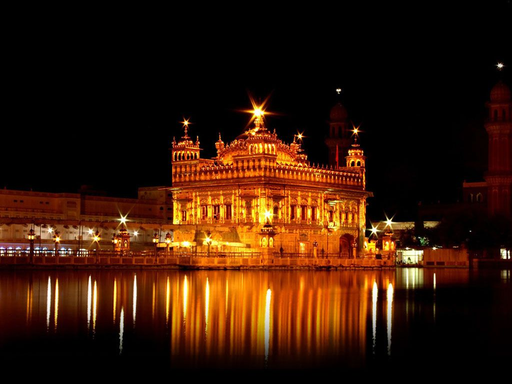 A Spiritual Day At Amritsar Girl Travel Illustration Culture