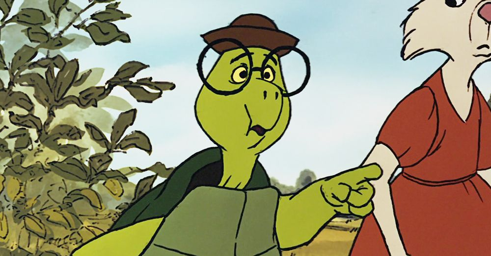 All The Fashion You May Have Missed In Robin Hood Cartoon Turtle