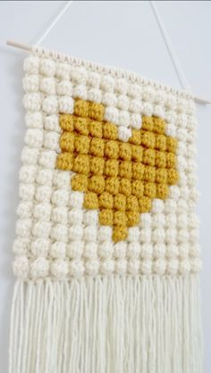 That's Amore Wall Hanging Crochet Pattern – Sea to Sky Designs