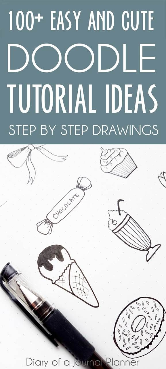 Ultimate List of Bullet Journal Doodles is part of Ultimate List Of Bullet Journal Doodles  Free Step By - Lots of brilliant doodle ideas for bullet journals & doodle planner  If you are looking for howtodraw tutorials or daily doodle ideas click to read more