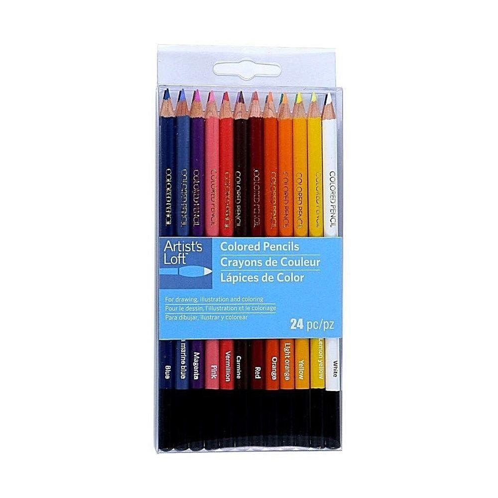Artist loft colored pencils 24 colors 7820 afflink