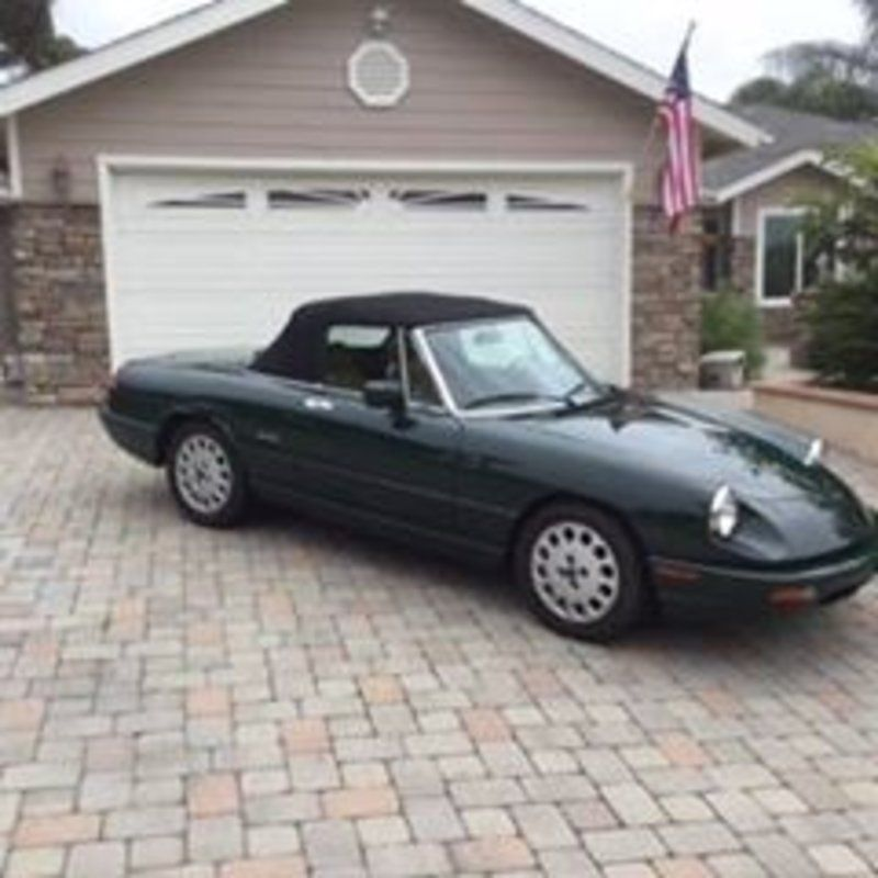 1993 Alfa Romero Spider Veloce (CA) - $16,000 Please call Greg ...