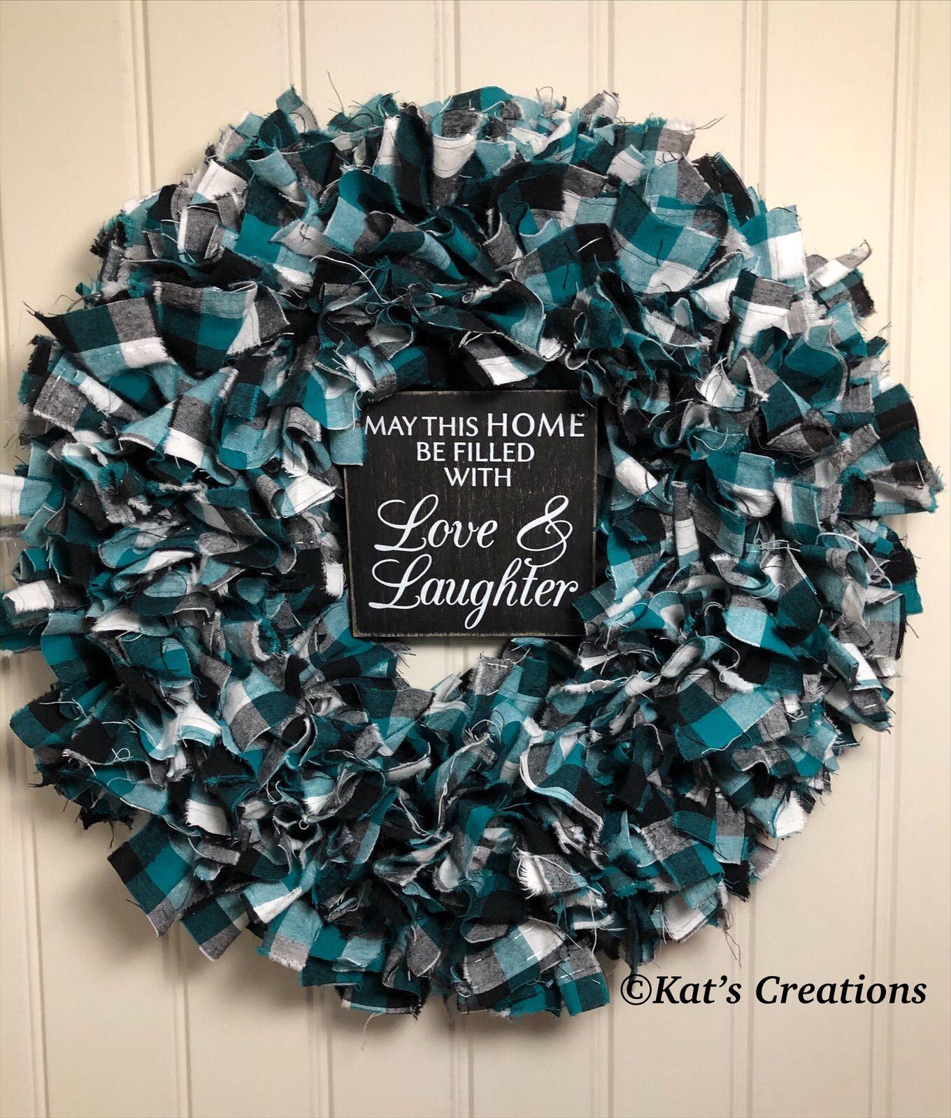 Photo of Flannel Rag Wreath