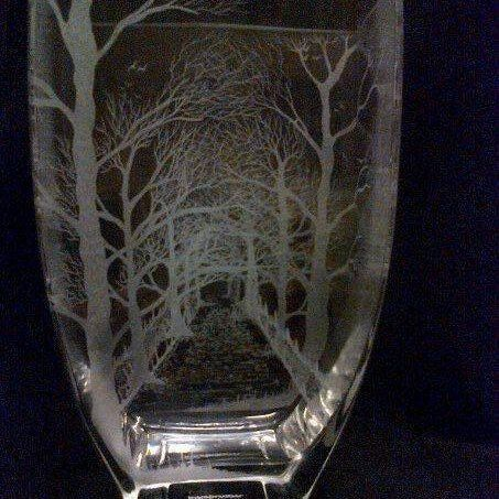 Woodland Walk Vase by MEFTgifts on Etsy