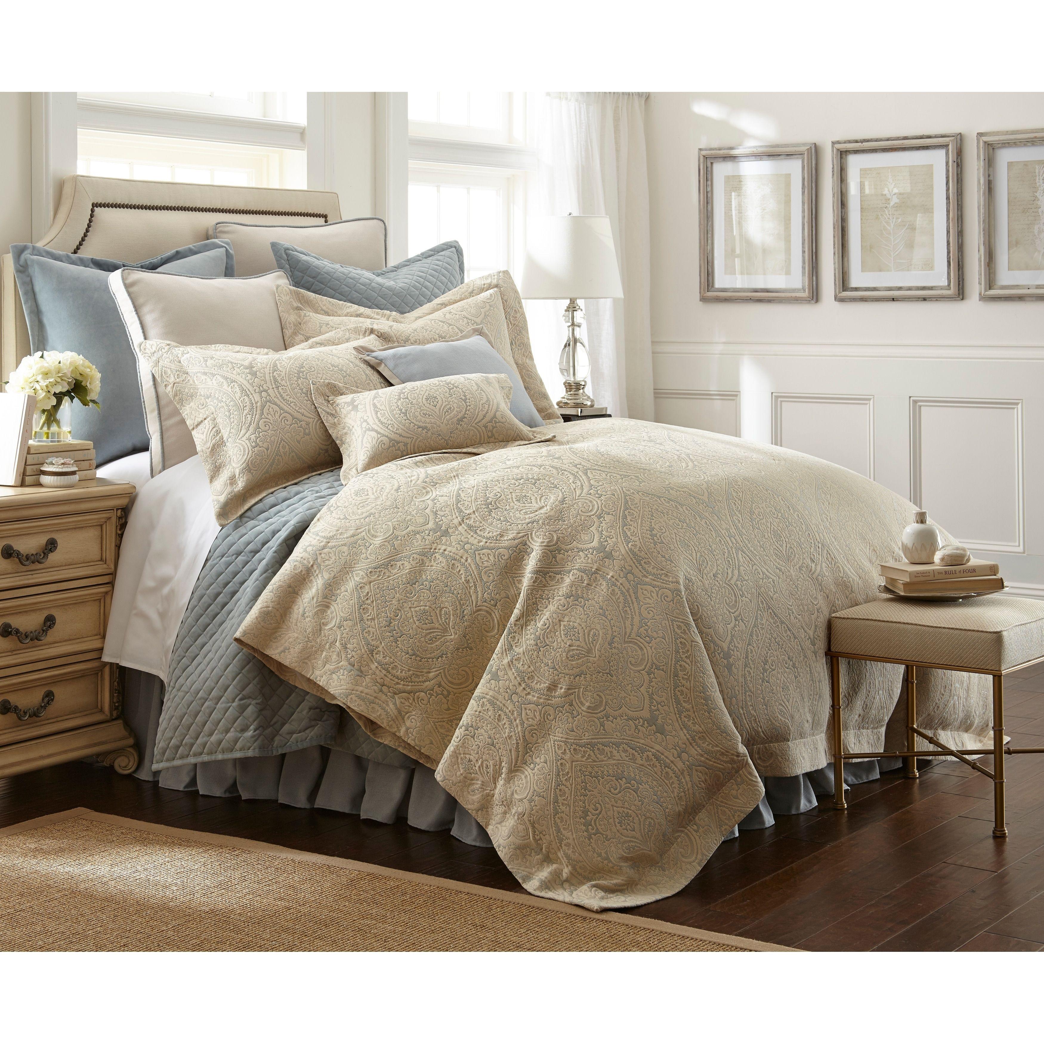 Pchf Abigail 3 Piece Luxury Duvet Set Queen Blue Luxury Comforter Sets Luxury Duvet Sets Luxury Bedding