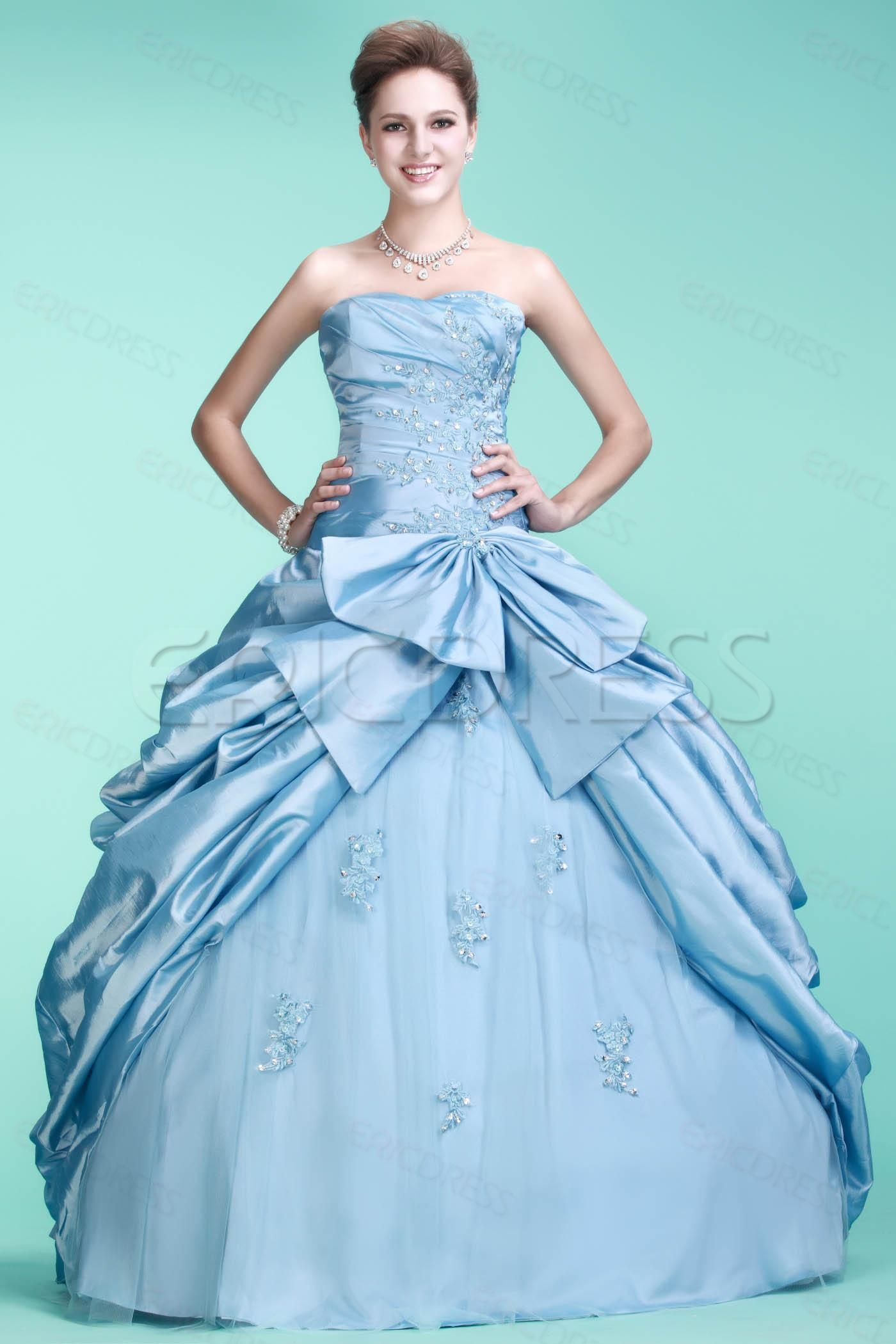 Brilliant ball gown sweetheart floorlength quinceanera dress