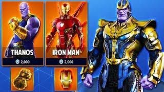 thanos avengers infinity war skins coming to fortnite season 4 fortnite battle royale - skin do thanos fortnite