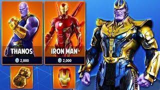 Thanos Avengers Infinity War Skins Coming To Fortnite Season 4