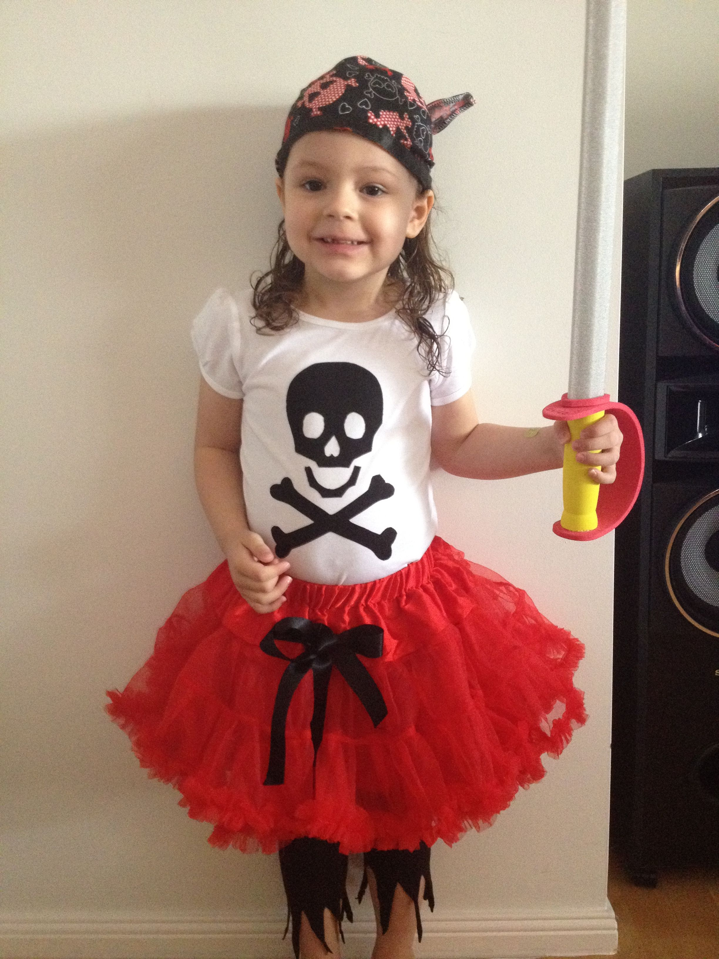 Pirate Dress up for girls! | Halloween | Toddler girl