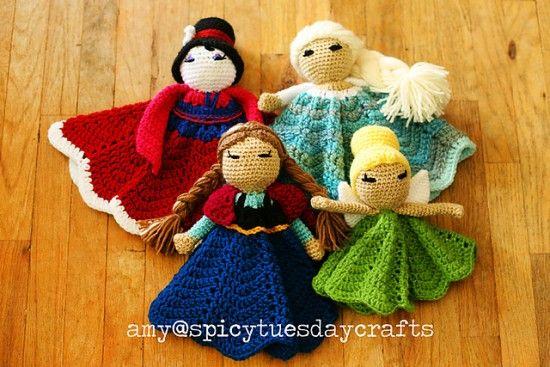 Free Amigurumi Disney Patterns : Disney princess crochet blanket lots of adorable patterns free