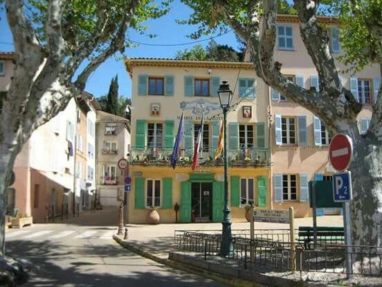 Mairie De La Motte Var From My Album Hygge