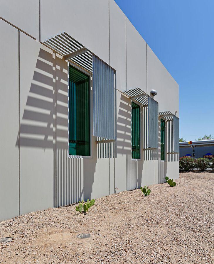 Ssa Tucson Rob Paulus Architects Concrete Architecture Industrial Architecture Building Design