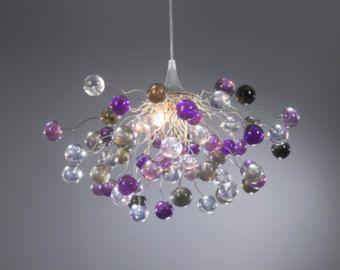 Iluminación colgante arañas con burbujas Pastel por yehudalight