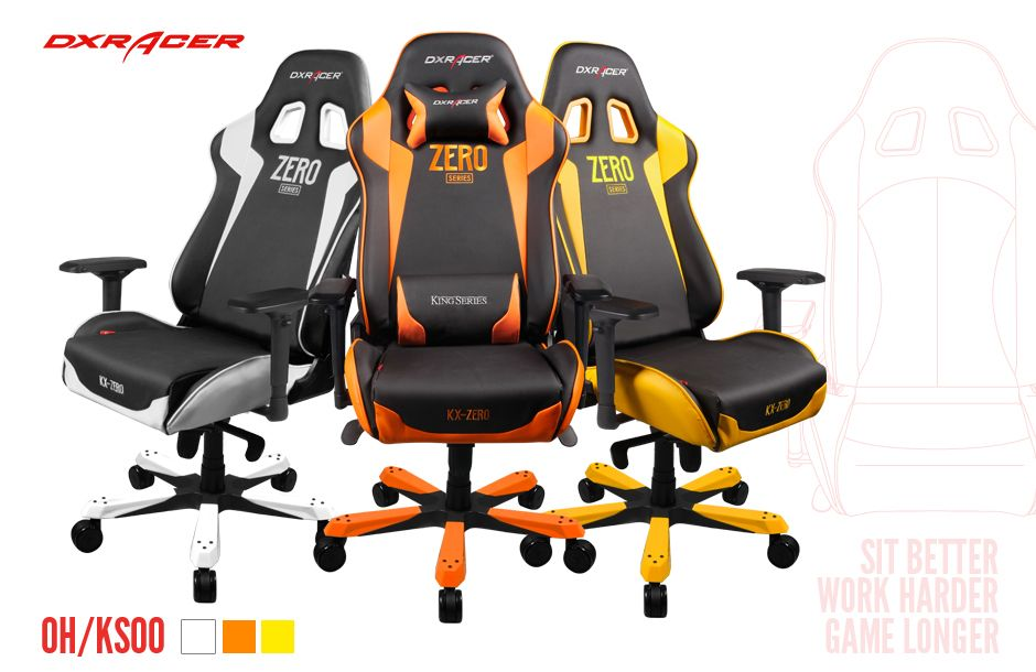 Dxracer King Chair 3 Colors 449video Love Life Gamer
