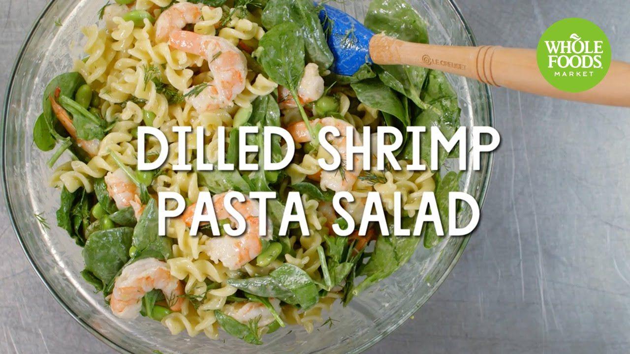 Dilled shrimp pasta salad whole foods market shrimp