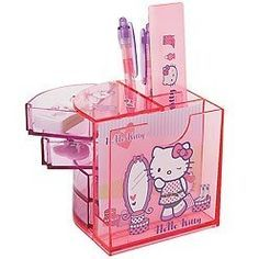 Hello Kitty Desk Organizer Hellokitty Hellokittyoffice Officeorganization