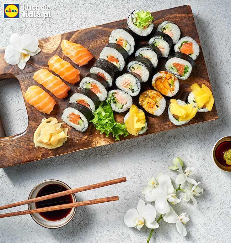 Sushi Kuchnia Lidla Lidl Polska Sushi Przepisy Lidla Sushi