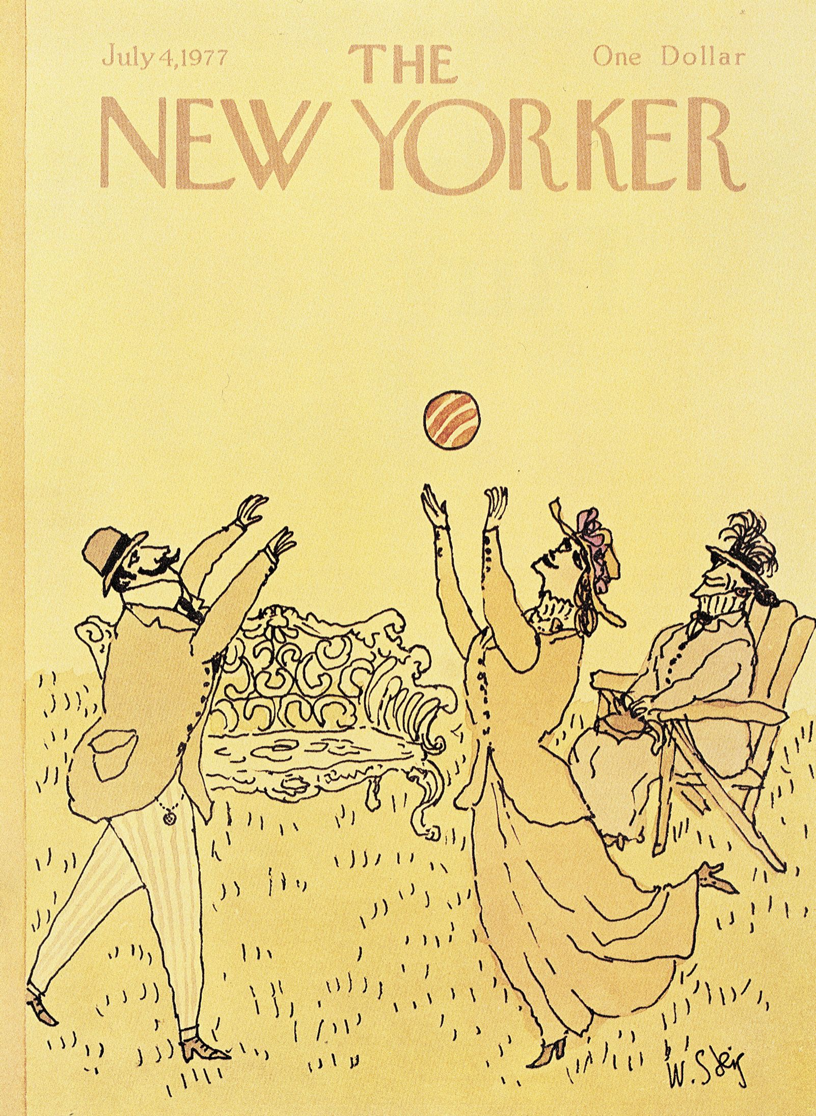 The New Yorker - Monday, July 4, 1977 - Issue # 2733 - Vol. 53 - N° 20 - Cover by : William Steig