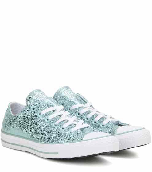 Sneakers Leather All Star Ox Metallic Taylor Chuck Stingray WBroexQdCE
