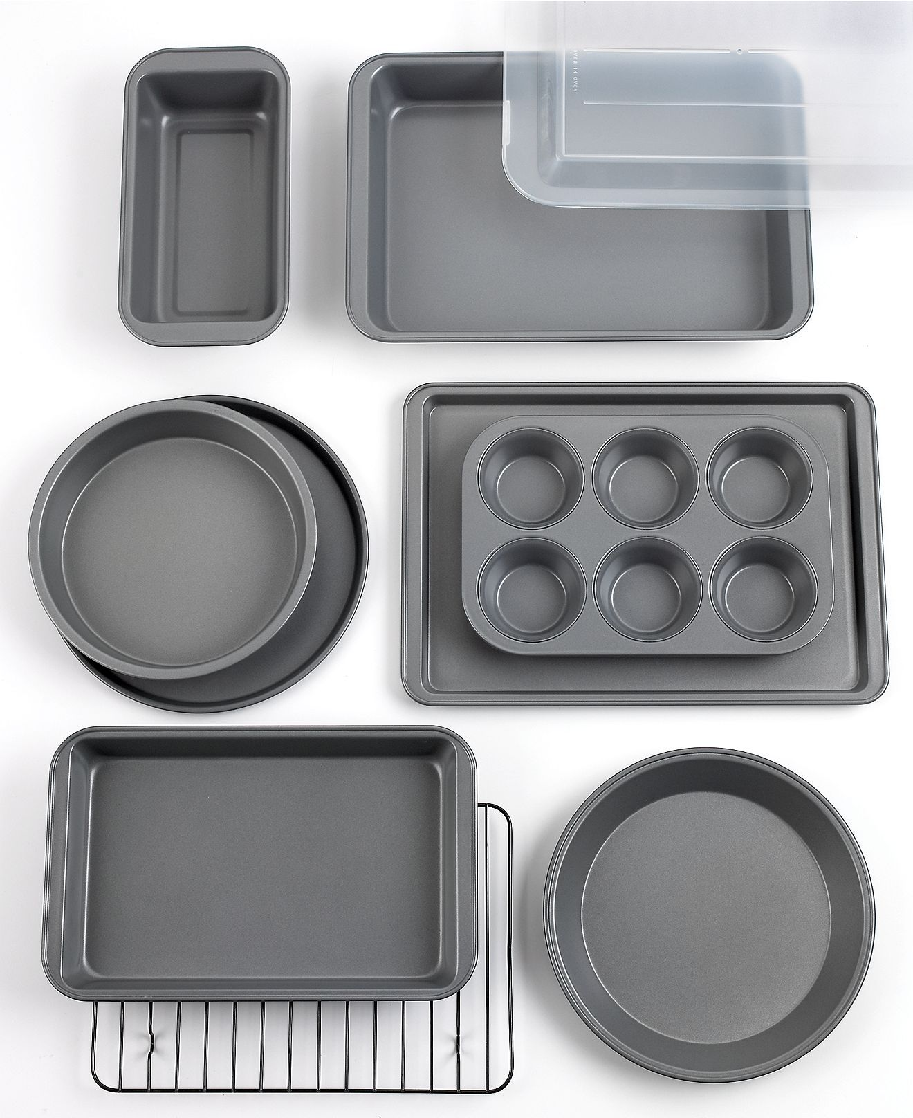 Tools Of The Trade Basics Bakeware Set 10 Piece Cookware Kitchen Macy S