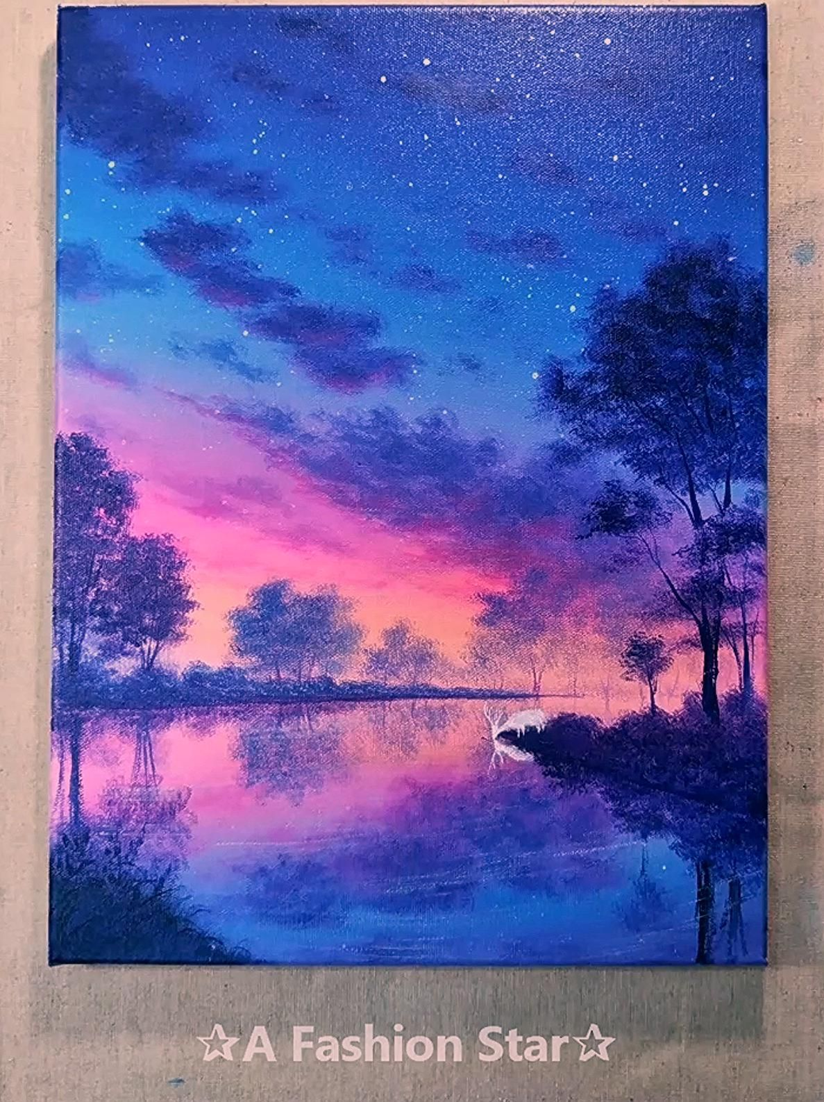 Today We Have Collected 8 Amazing And Beautiful Painting Ideas For You Which Are Very Suitable For Home Deco In 2020 Painting Canvas Art Painting Art Painting Acrylic