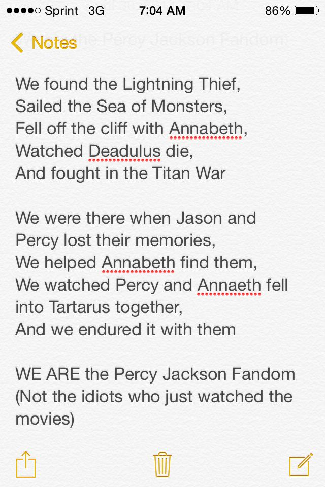 WE ARE the Percy Jackson Fandom << exactly ! My friend watched the movies only and she was like : ' Athena is the goddess of war ' *facepalm*