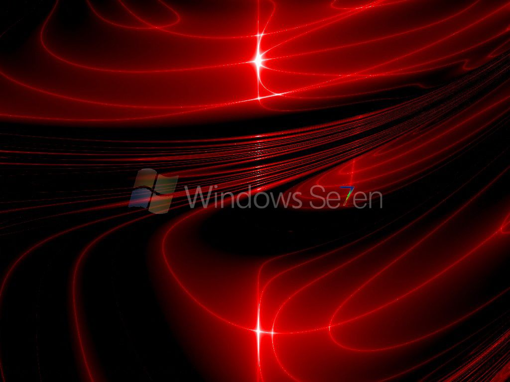Windows 7 Hd Wallpaper Gambar Merah Abstrak