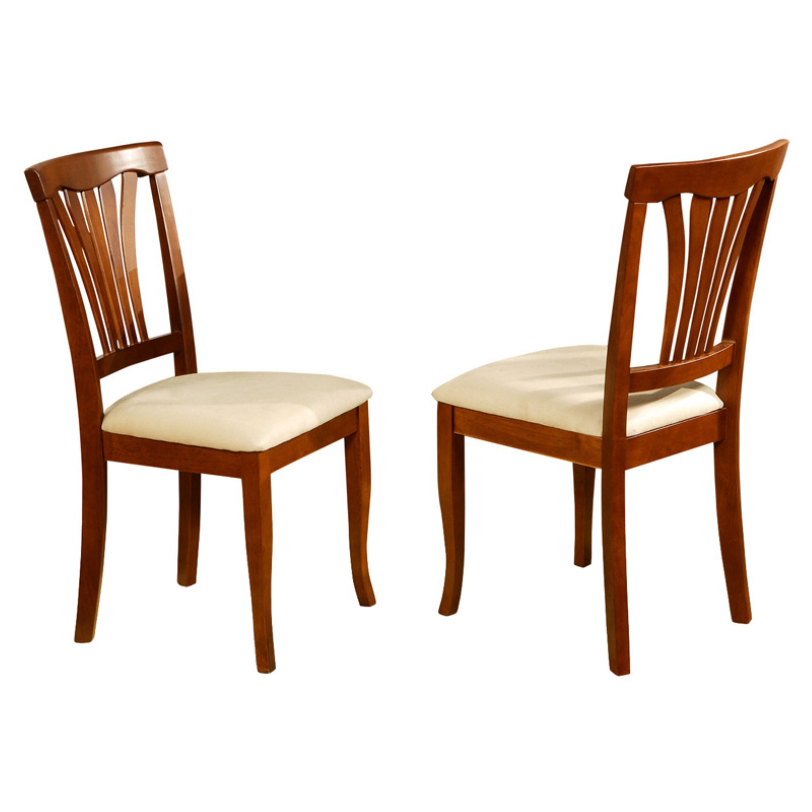 Phenomenal East West Furniture Avon Dining Chair With Microfiber Seat Gmtry Best Dining Table And Chair Ideas Images Gmtryco