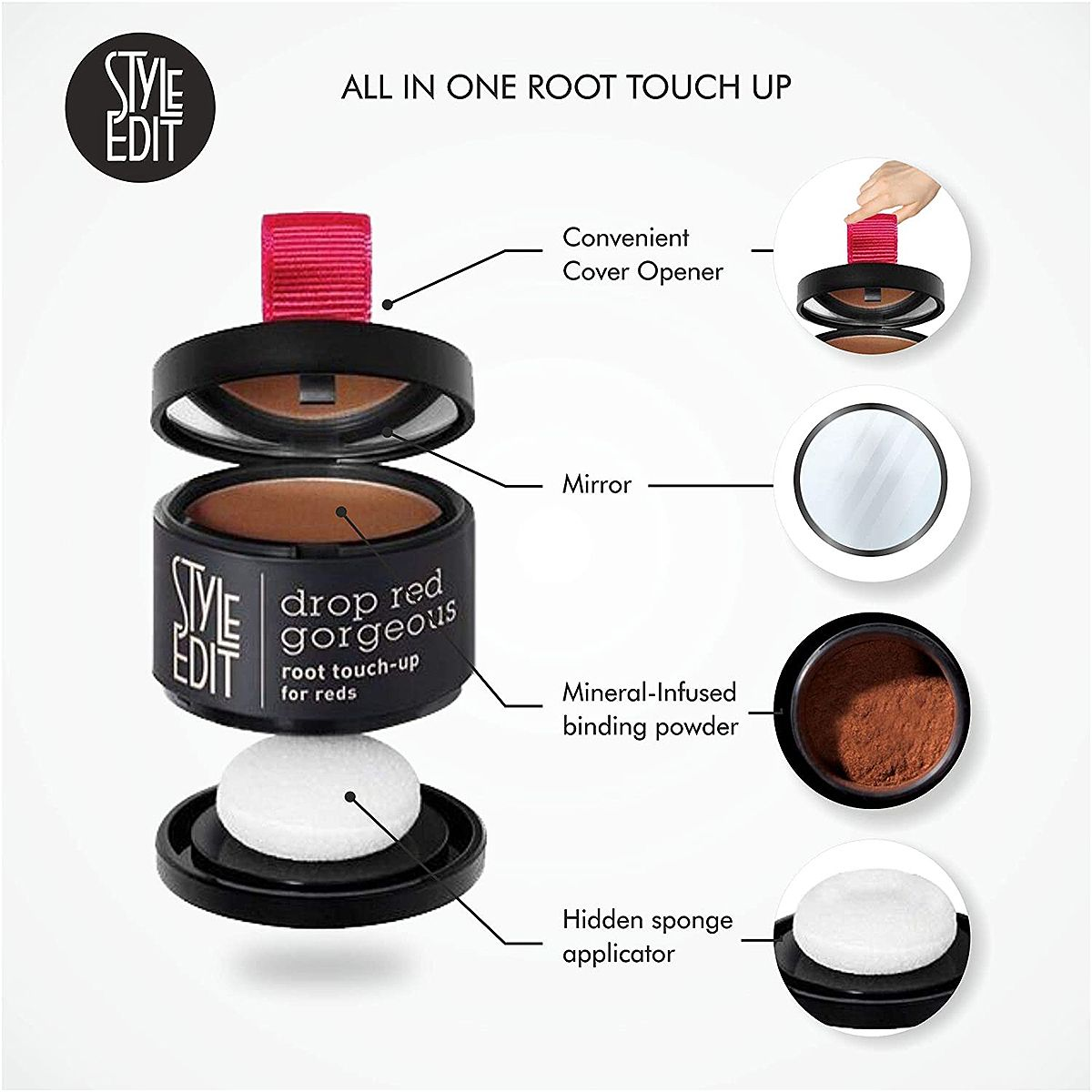 Can T Go To The Salon With This Top Rated Root Powder You Won T Need To In 2020 Root Touch Up Root Touch Dark Red Hair Color