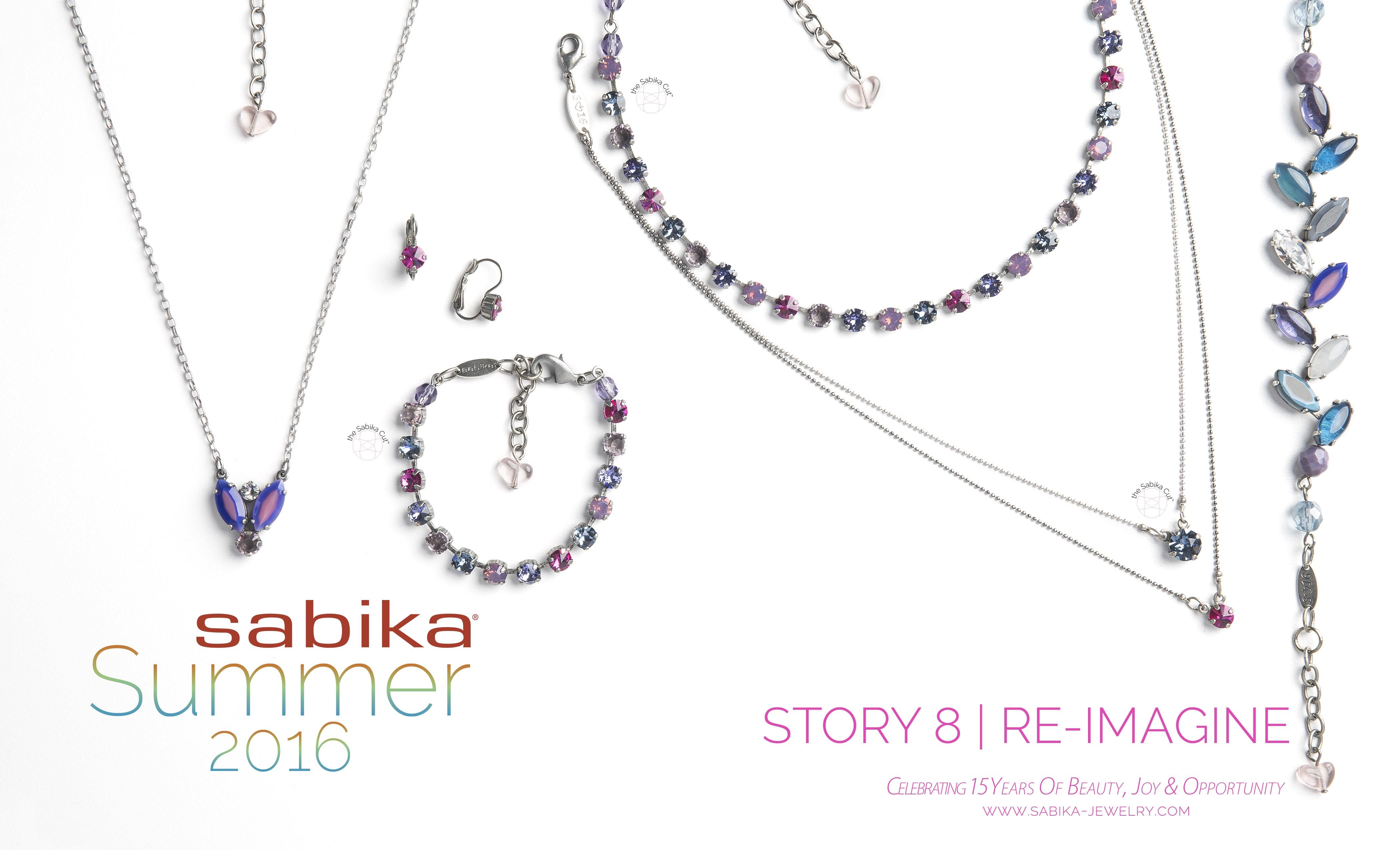 Sabika look necklace - Sabika Spring Summer 2016 Collection Story 8 Re Imagine