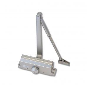 Eclipse 28730 Overhead Hydraulic Door Closer Power Size 3 Silver Overhead Door Closed Doors Steel Doors