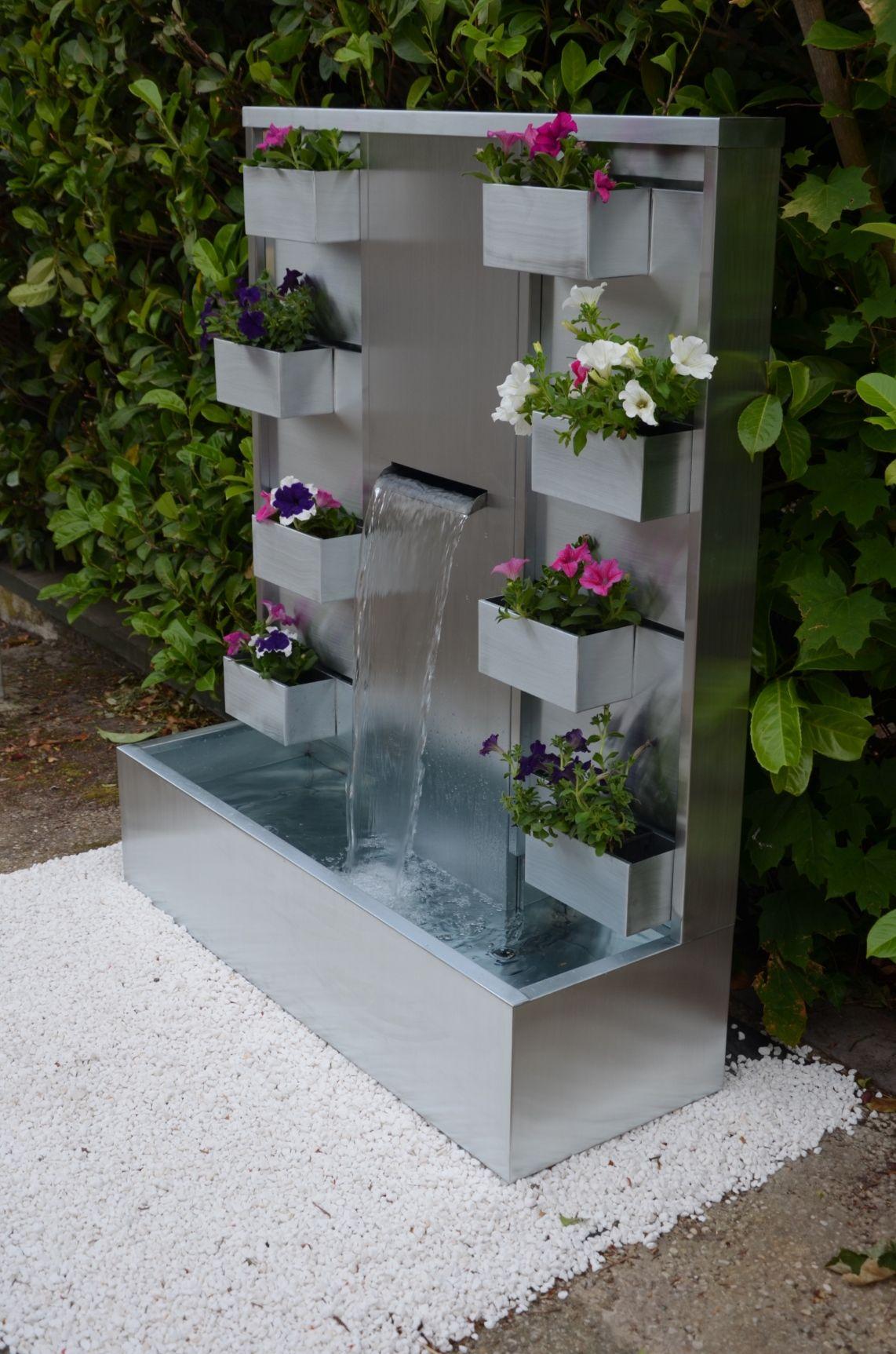 Fontaine pour jardin ou étang pleureurs cascade eau jeu fontaine