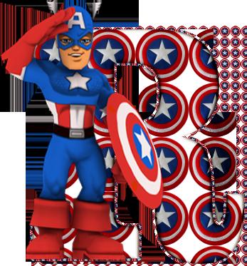 Alfabeto del capitán américa