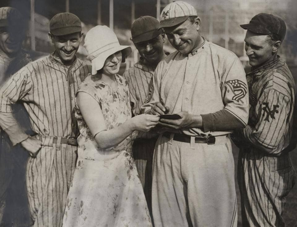 Old time autograph seeker Ty cobb, Baseball classic