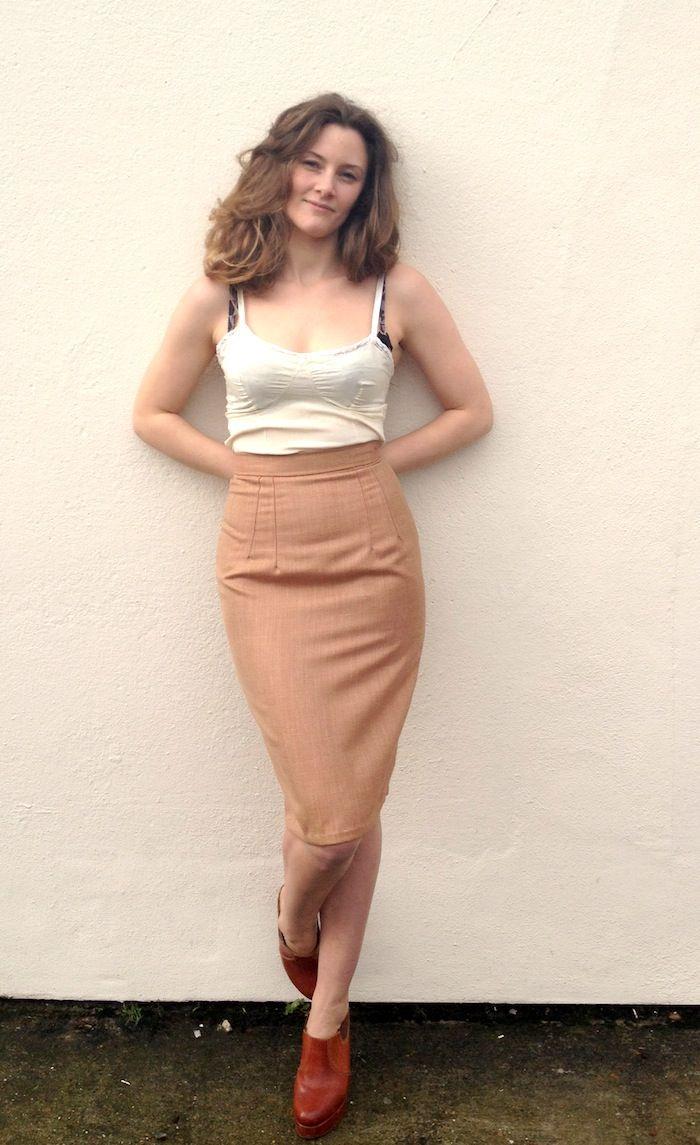 Charlotte Skirt Sewalong #5: Hemming (& we\'re done!) | Kleidung ...